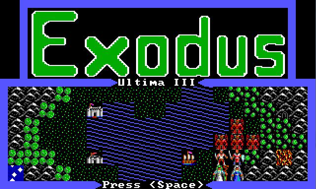 Ultima 3 EGA Graphics